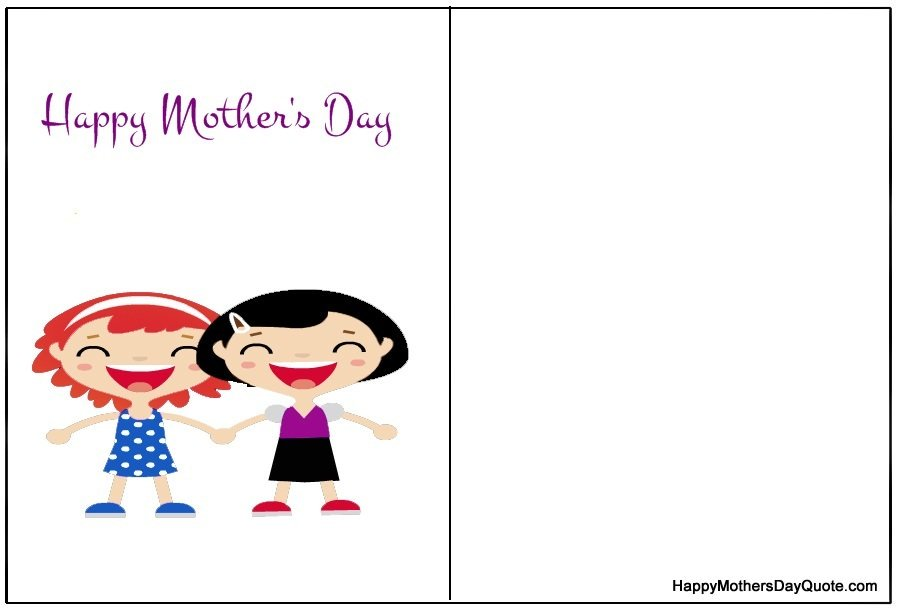 cute mother's day printable cards