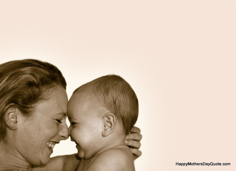 Cute Mother And Child Pictures Large Full HD Wallpaper