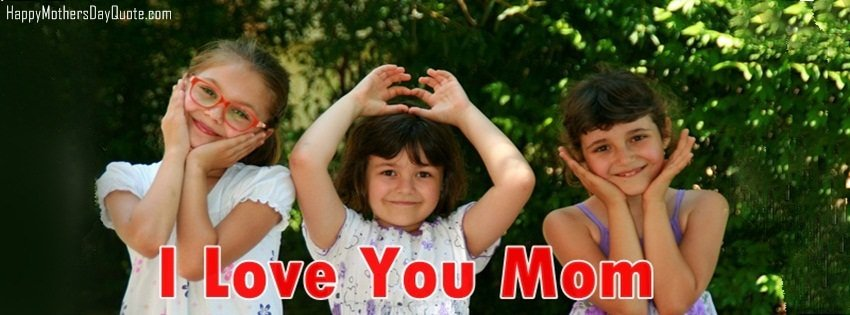 i love u mom cover photo