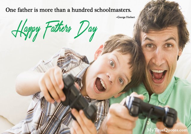 Fathers Day Attitude Quote from Son