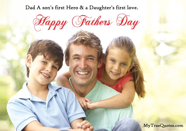 Fathers Day Images for Son Daughter