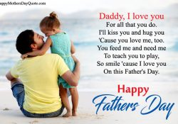 Fathers Day Poems From Different Relations