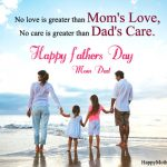 Happy Father's Day Parents Quotes from Children