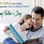 Meaningful Happy Fathers Day Status for Whatsapp, Short FB Lines