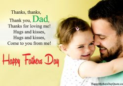 Fathers Day Poem from Baby