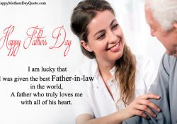 Happy Fathers Day Quotes For Father-In-Law