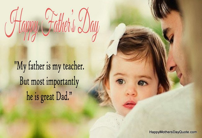 Great Dad Quotes on Dad Day