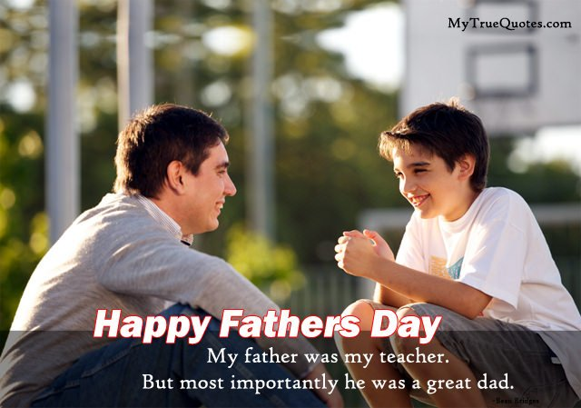 Inspiring Father Son Quotes Images