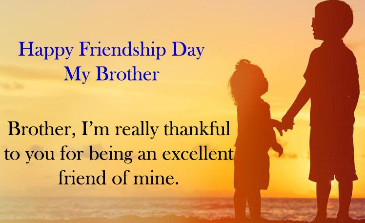 Happy Friendship Day Brother Quotes