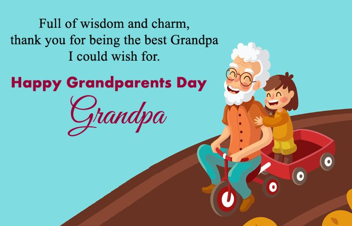 Grandparents Day Cards for Grand Dad