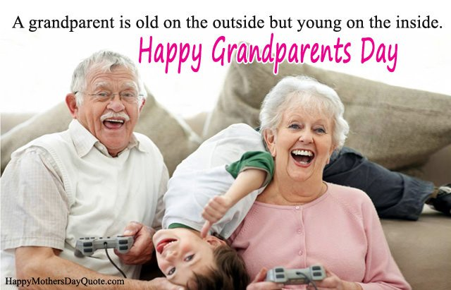 Grandparents Day Quotes from Grandchild