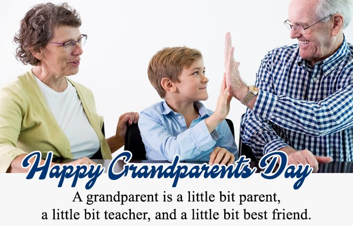 Greeting Card for Grandpa & Grandma
