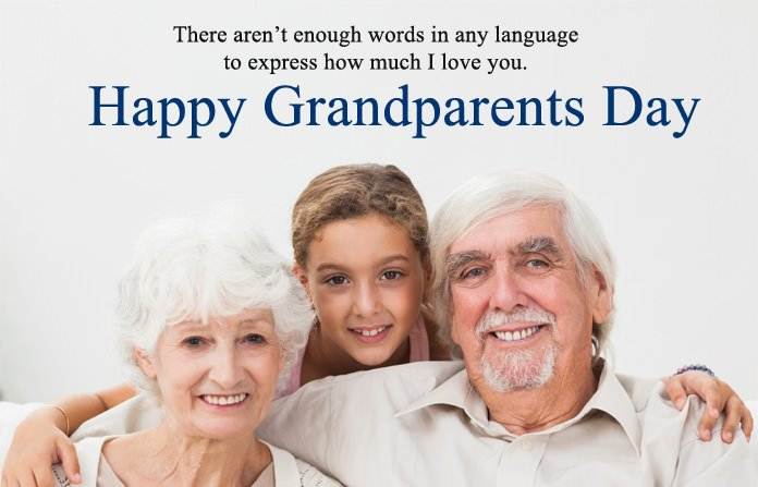 Greeting Picture for Grandparents Day