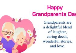 Happy Grandparents Day Greeting Image