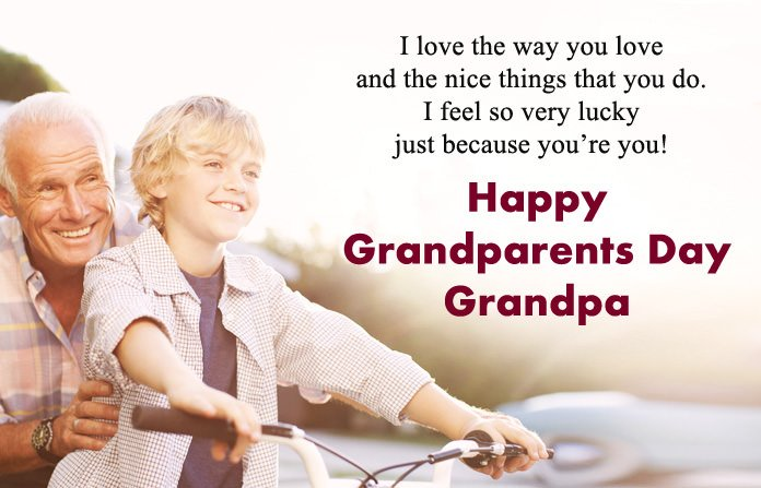 Happy Grandparents Day Images for Grandpa