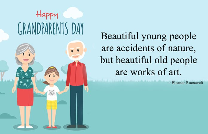 Happy Grandparents Day Images for Kids