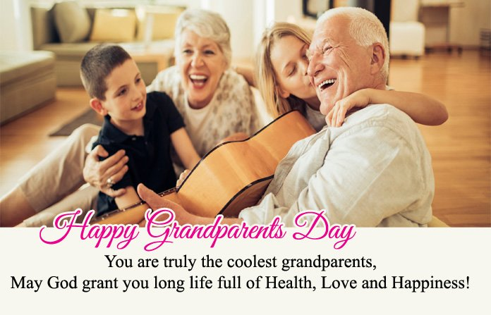 Happy Grandparents Day Msg