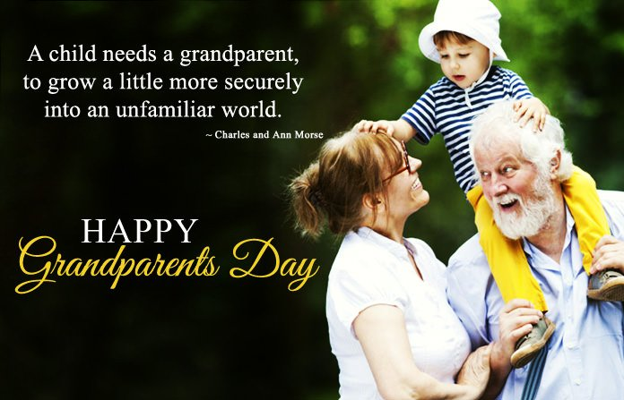 Happy Grandparents Day Sayings Image