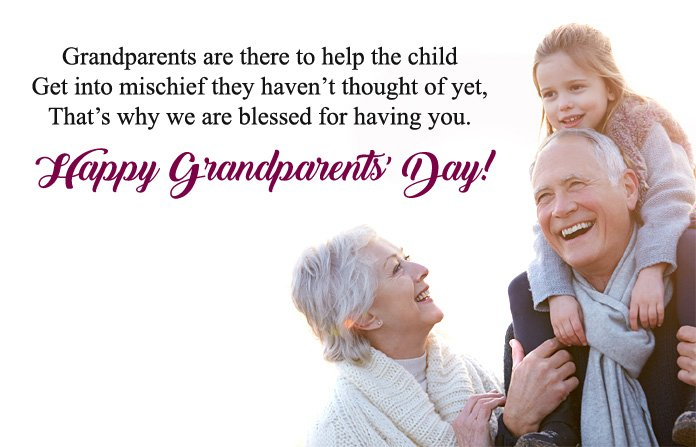 Happy Grandparents Day Wishes Image