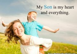 Beautiful Mother To Son Quotes and Sayings Image