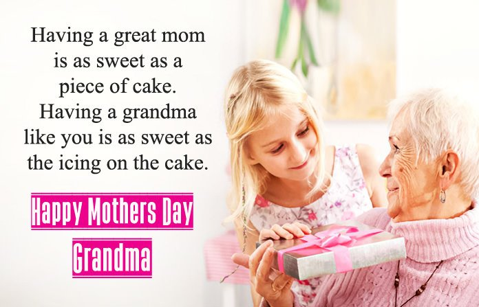 Happy Mothers day sayings to grandmother