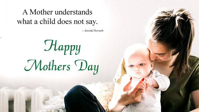 A Mother understands what child Dose not say