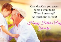 Best Fathers Day Wishes from Grand Children to Grand Father