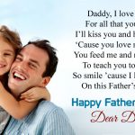 Cute Happy Fathers Day Poems From Baby Kids