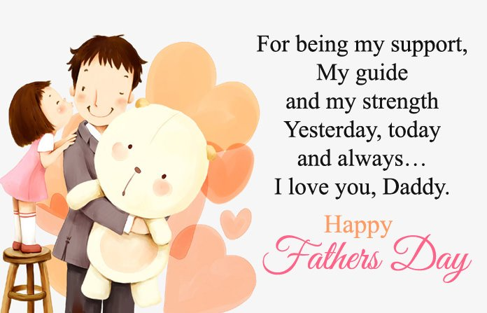 Best Wishes for Father From Daughter