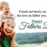 Happy Fathers Day Quotes with Images from Son Daughter
