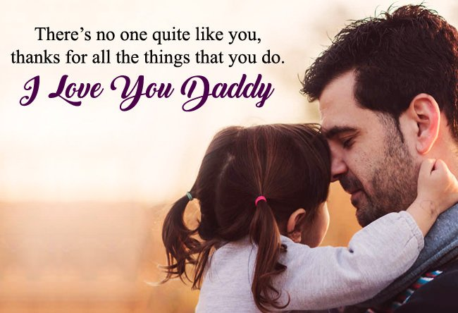 I Love You Daddy Images