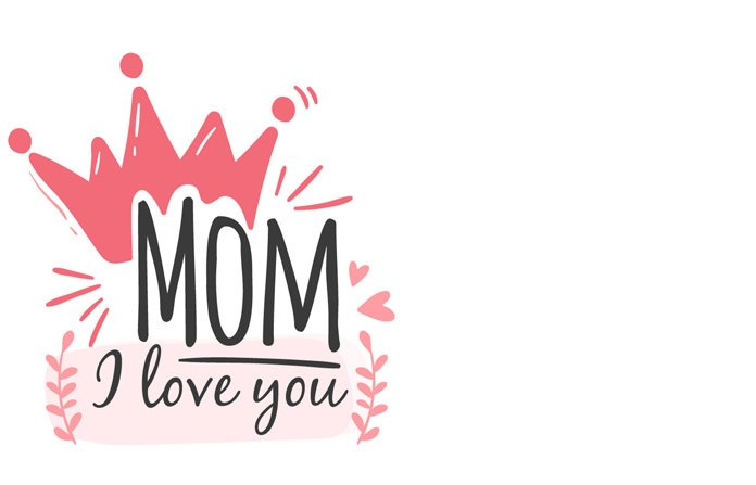 Mom I Love You Printable Card