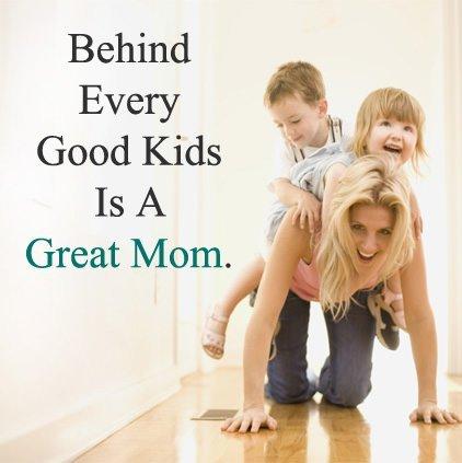 Mom Status from Kids