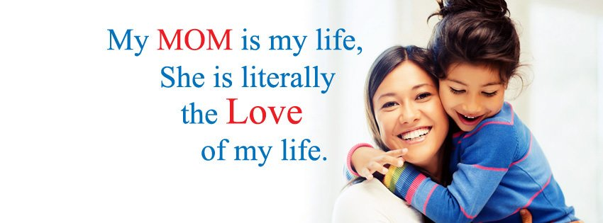 Mother Day Slogan Cover Photo