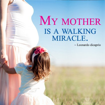 Mother Miracle Quote Profile Pic