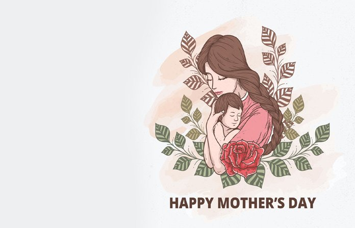 Mother Son Printable Card