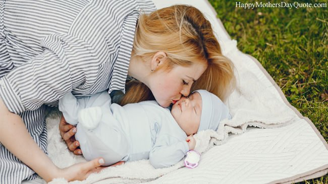 Very Small Baby with Beautiful Mother