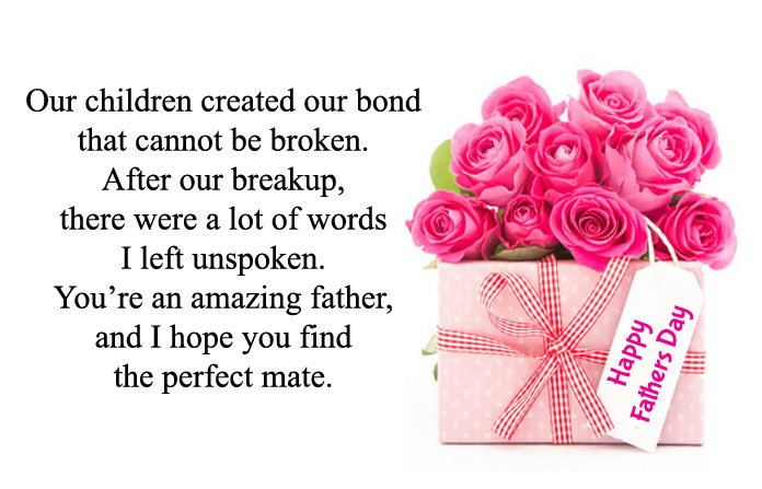 Fathers Day Messages for Ex Husband
