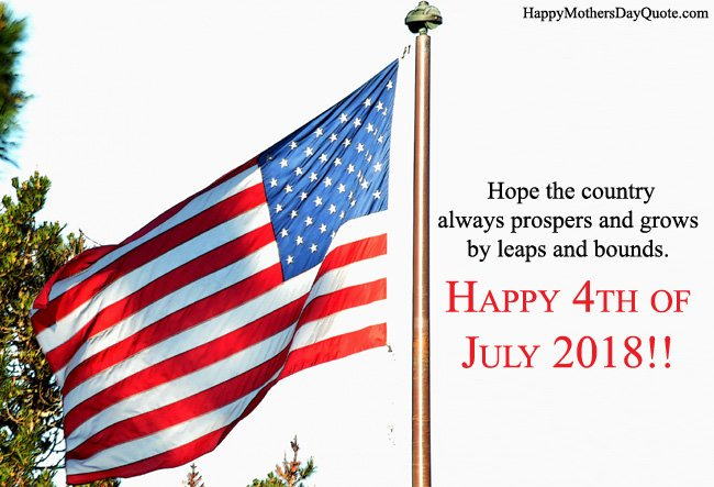 Happy 4th of July 2018