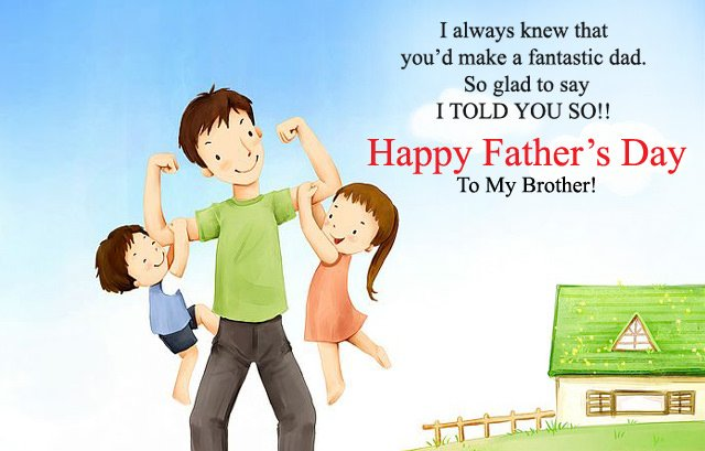 Happy Fathers Day Brother Quotes Wishes