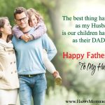 Happy Fathers Day Love Quotes From Wife To Husband