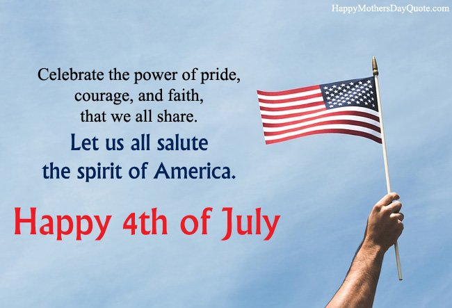Happy Fourth July Quotes for America