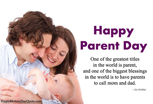 Happy Parents Day Wishes Messages