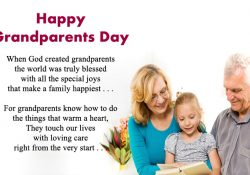 Grandparents Day Poems from Kids