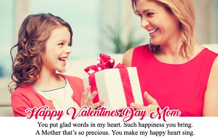 Happy Valentines Day Mom Quotes Wishes Mommy Love Messages