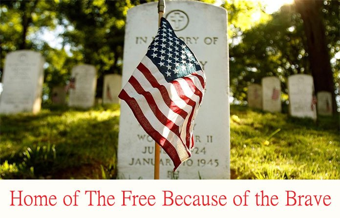 Brave Saying on Memorial Day