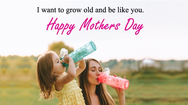 Cute Images of Mother Daughter