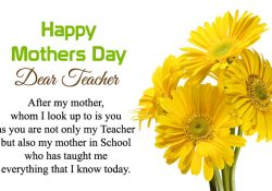 Happy Mothers Day Madam Messages and Sayings