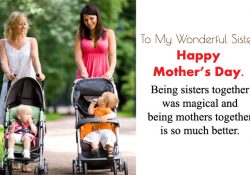 Happy Mothers Day to My Sister