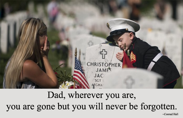 Memorial Day Quote For My Dad